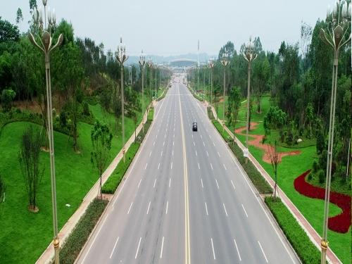 机场路景观绿化提升工程