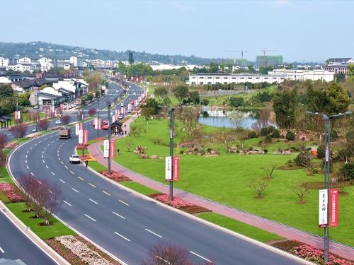 酒谷大道酒业园区景观绿化提升工程