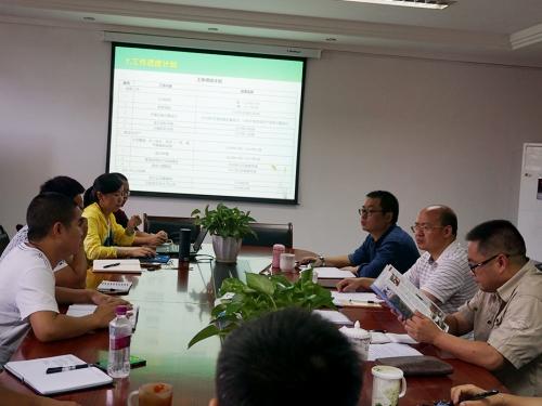 李云春局长调研公司重点建设项目工作