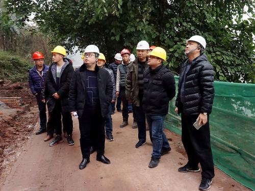 王晓谦局长调研绿道项目